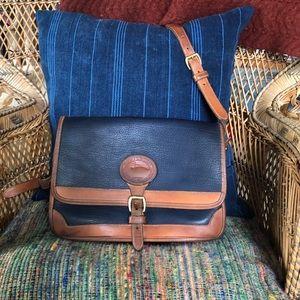 Dooney & Burke Vintage Leather Crossbody Bag